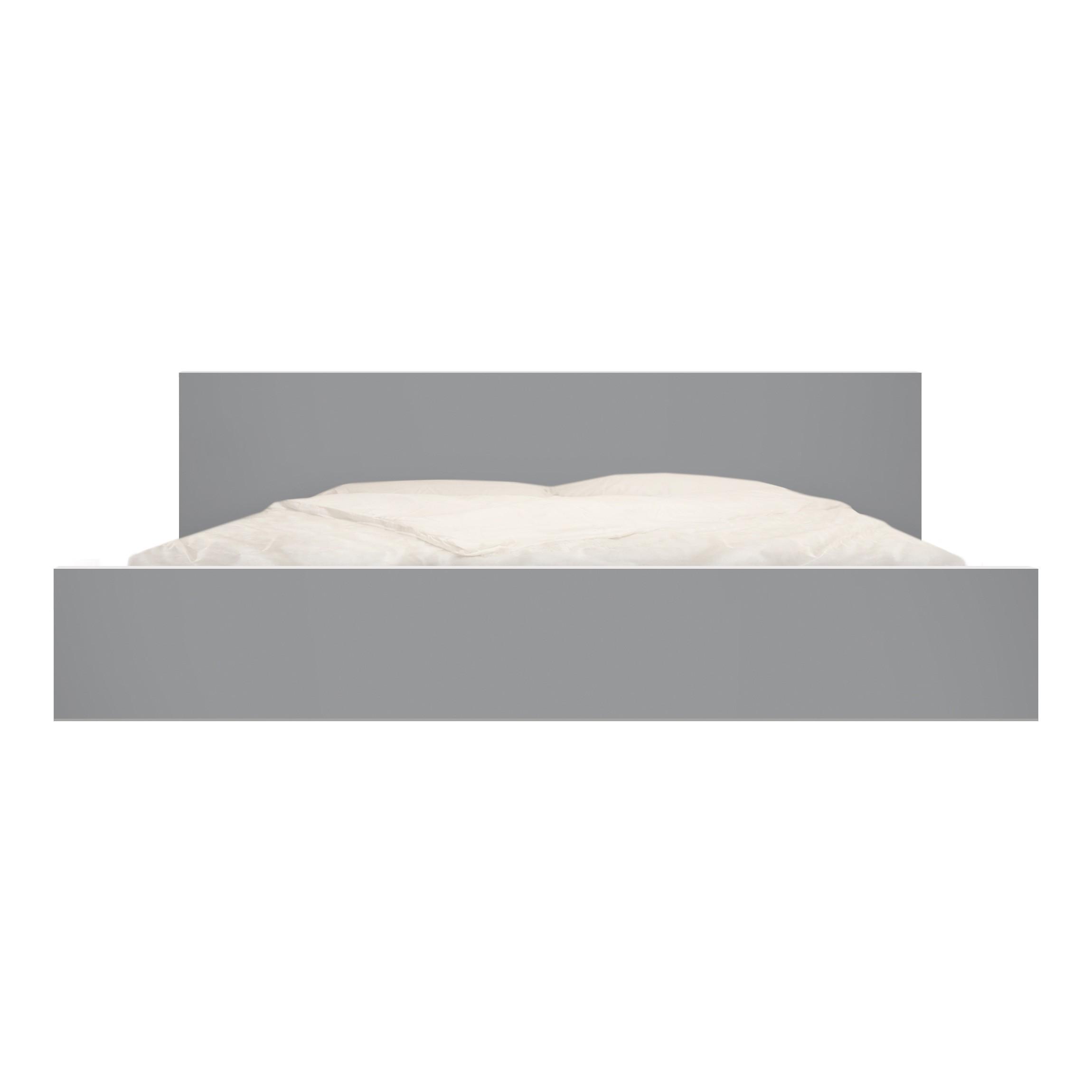 Carta adesiva per mobili ikea malm letto basso 180x200cm colour cool grey - Mobili letto ikea ...