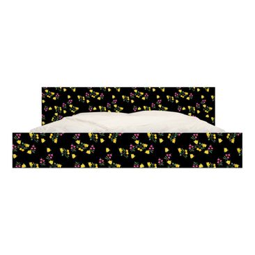 Product picture Furniture Decal for IKEA - Malm bed low...