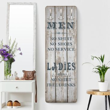 Immagine del prodotto Appendiabiti - No.RS181 Men and Ladies 139x46x2cm