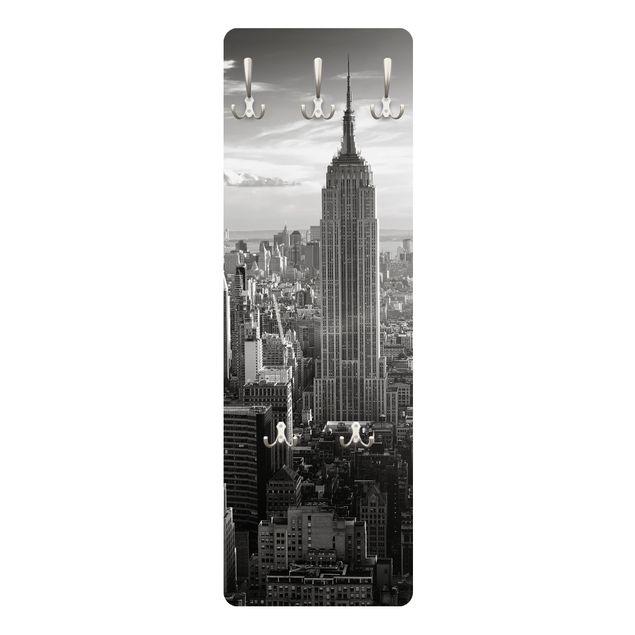 Produktfoto Garderobe Vintage New York - Manhattan Skyline
