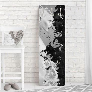 Produktfoto Garderobe - Milk & Coffee II - Weiß Schwarz