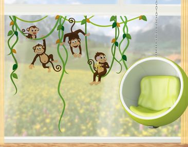Product picture Window Sticker no.YK28 Monkey Gang