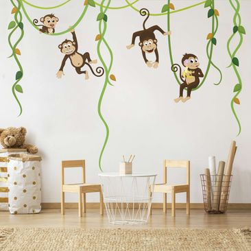 Product picture Wall Decal no.YK28 Monkey Gang