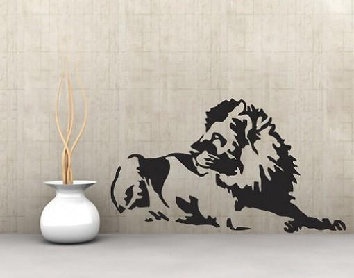 wandtattoo l we no ul204 l we. Black Bedroom Furniture Sets. Home Design Ideas