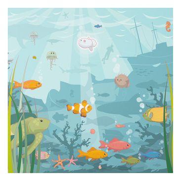 Product picture Forex Fine Art Print - Mural No.EK57...