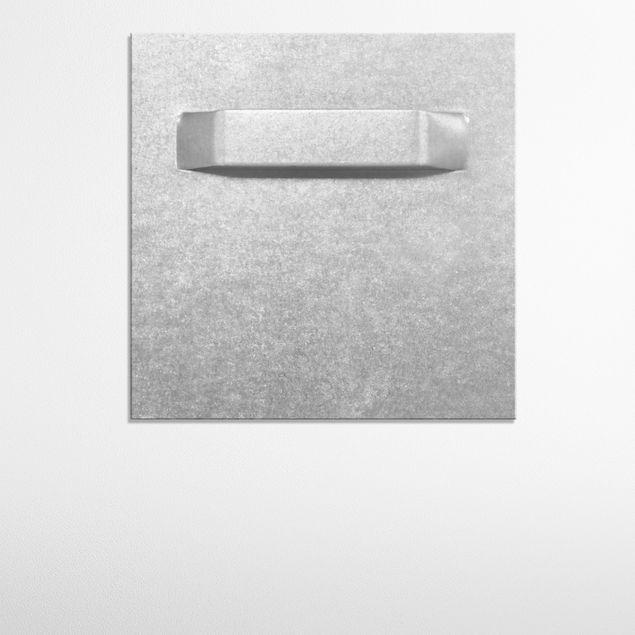 Produktfoto Forex Fine Art Print - Wandbild Startendes Flugzeug - Quadrat 1:1