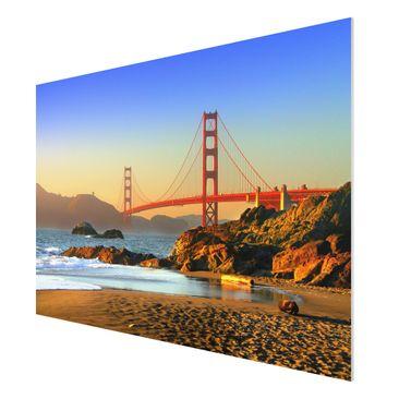Product picture Forex Fine Art Print - Mural Baker Beach...