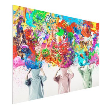Product picture Forex Fine Art Print - Mural Brain...