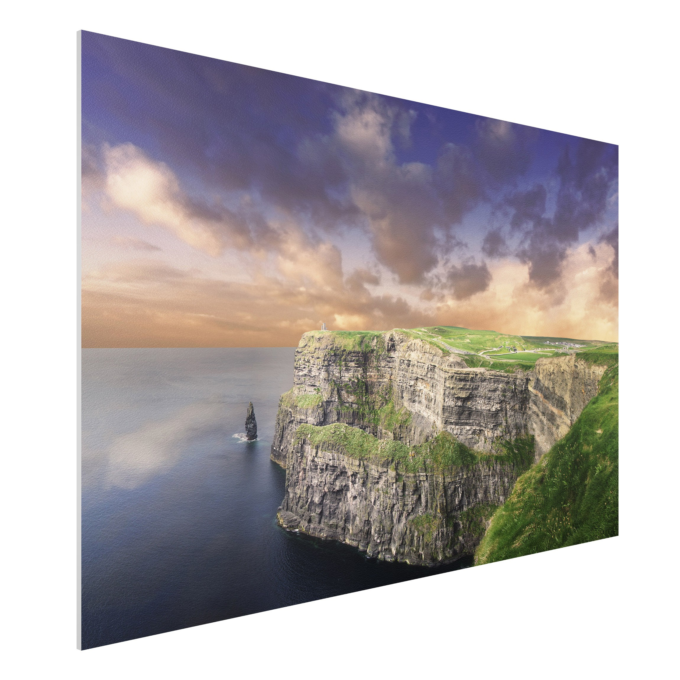 forex fine art print mural cliffs of moher wide 2 3. Black Bedroom Furniture Sets. Home Design Ideas