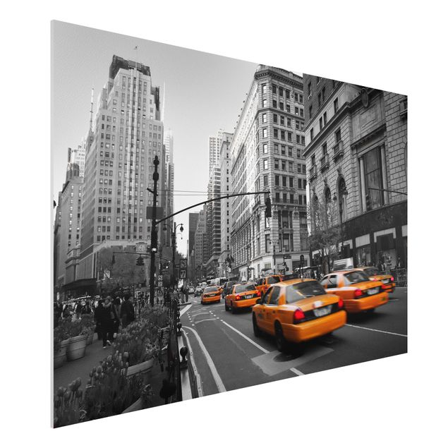 forex fine art print wandbild new york new york quer 2 3. Black Bedroom Furniture Sets. Home Design Ideas