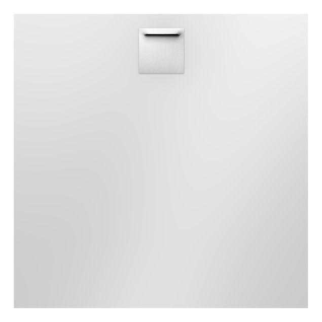 Produktfoto Aluminium Print - Wandbild Eisblumen - Quadrat 1:1