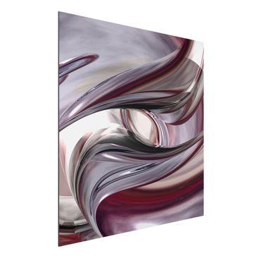 Produktfoto Aluminium Print - Wandbild Illusionary - Quadrat 1:1