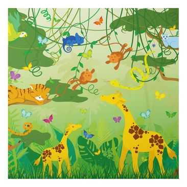 Product picture Aluminium Print - Mural No.IS87 Jungle...