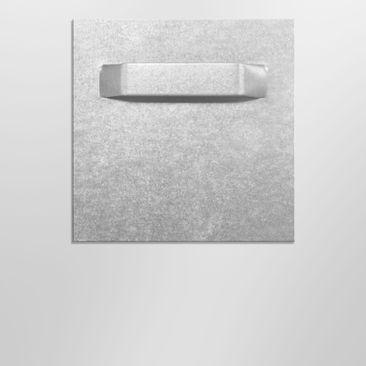 Product picture Aluminium Print - Mural Grunge Flower -...