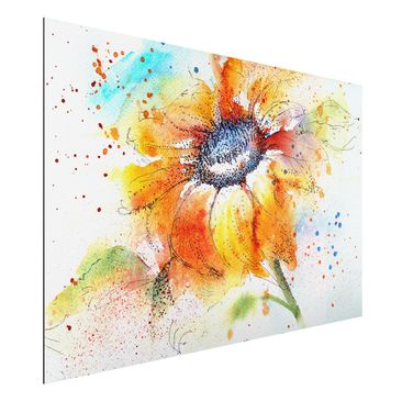 Product picture Aluminium Print - Mural Painted...