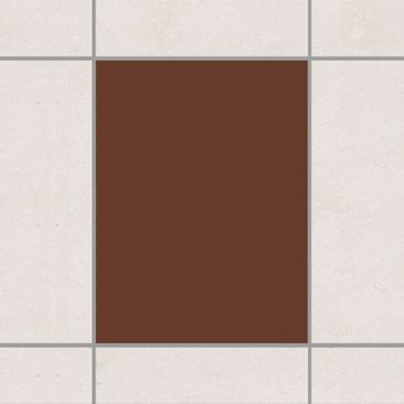 Produktfoto Tile Sticker - Colour Chocolate 20cm x...