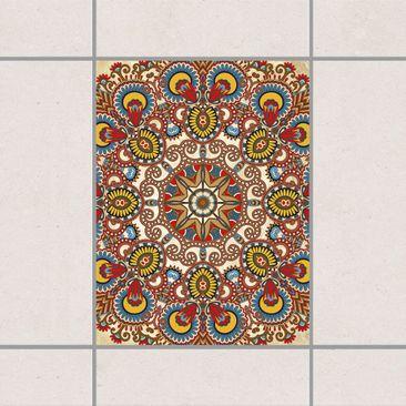Immagine del prodotto Adesivo per piastrelle - Coloured Mandala 20cm x 15cm