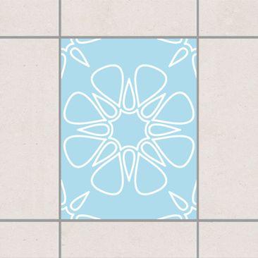 Immagine del prodotto Adesivo per piastrelle - Florale desert 20cm x 15cm