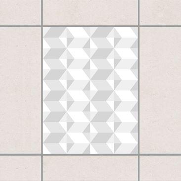 Immagine del prodotto Adesivo per piastrelle - Grey tile pattern 20cm x 15cm
