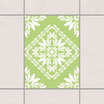 Product picture Tile Sticker - Vera Rosa Spring Green...
