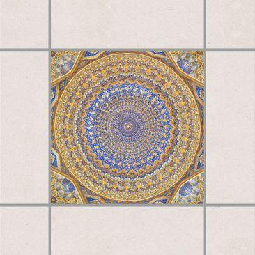 Produktfoto Fliesenaufkleber - Dome of the Mosque 10x10 cm - Fliesensticker Set