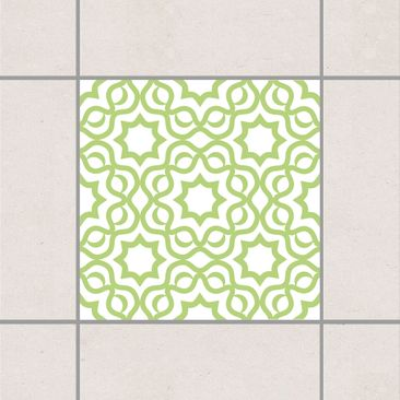 Product picture Tile Sticker - Islamic White Spring...