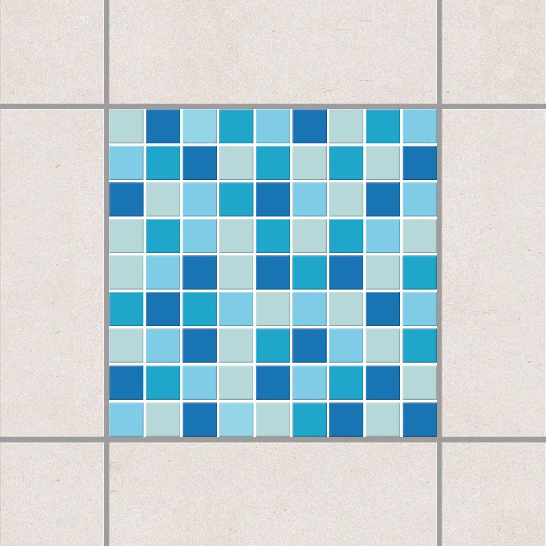 Fliesenaufkleber Mosaik Selbstklebende Mosaikfliesen