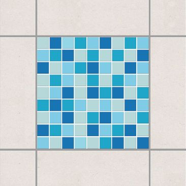 Immagine del prodotto Adesivo per piastrelle - Mosaic Tiles Sound of the Sea 10cm x 10cm