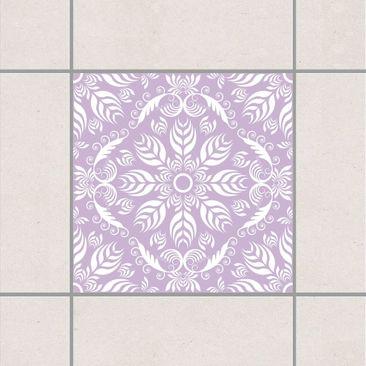 Produktfoto Fliesenaufkleber - Rosamunde Lavender 10x10 cm - Fliesensticker Set Fliedervv