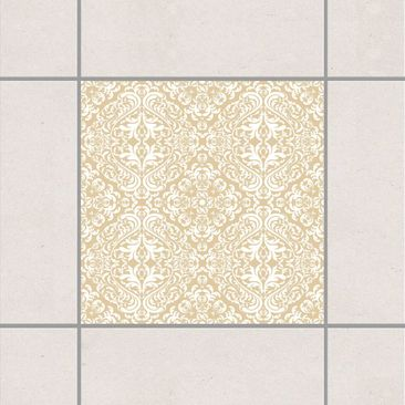 Product picture Tile Sticker - Time Curls By Light Brown...