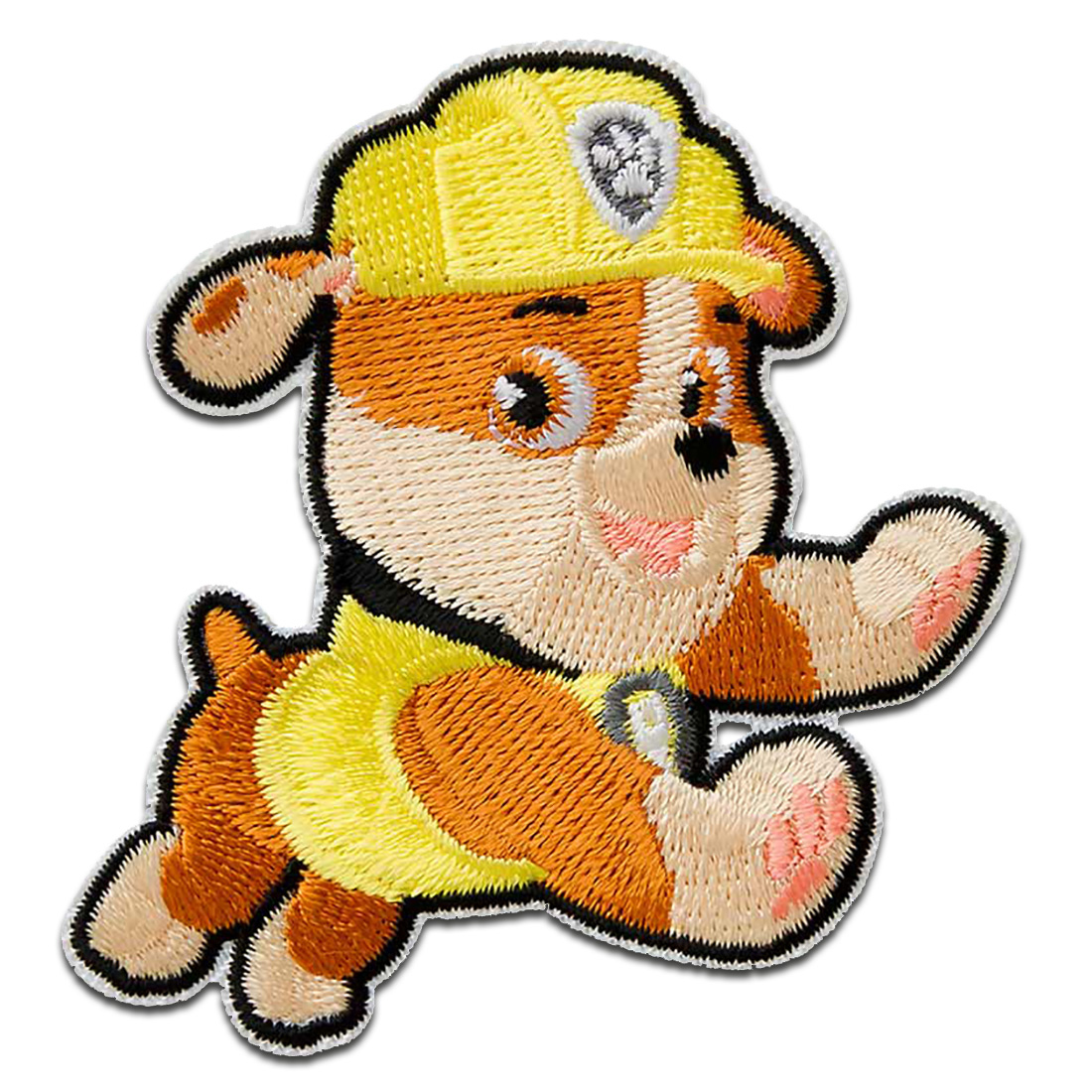 "Iron on patches pink PAW PATROL /""SKYE/"" 6,8x6,3cm Application Embroided b"