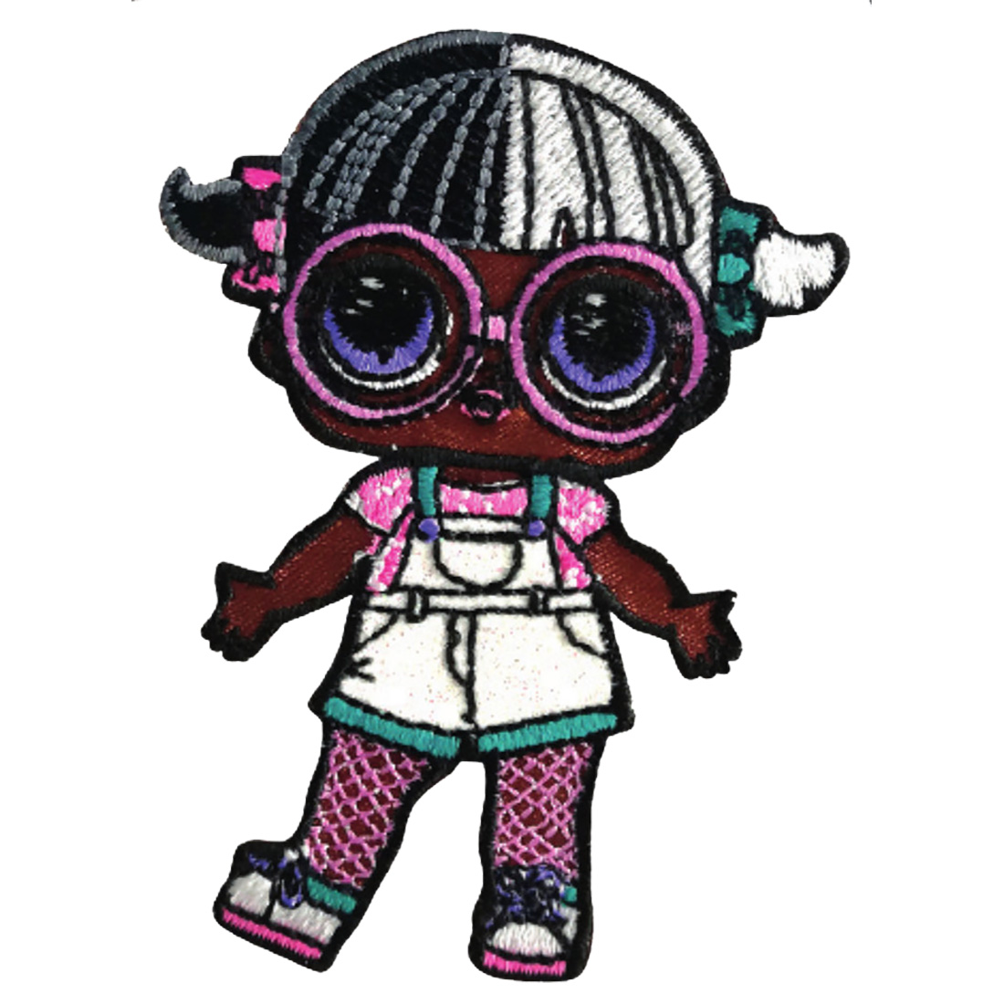 Iron On Patches Lol Surprise Dolls Baby Next Door Colorful 6