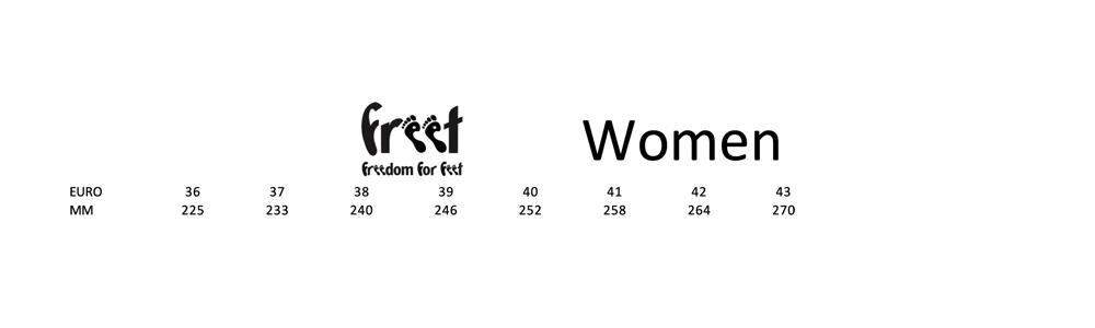 Freet Frauen Größen
