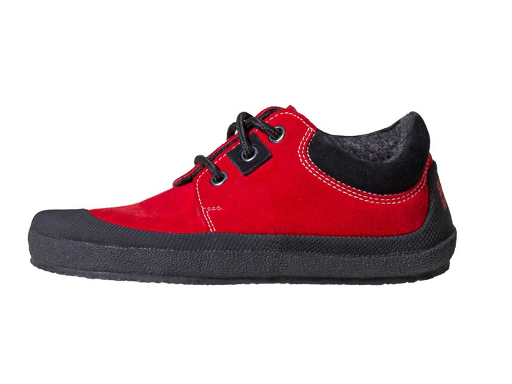 Pan Red/Black Unisexschuh Gr. 30-35