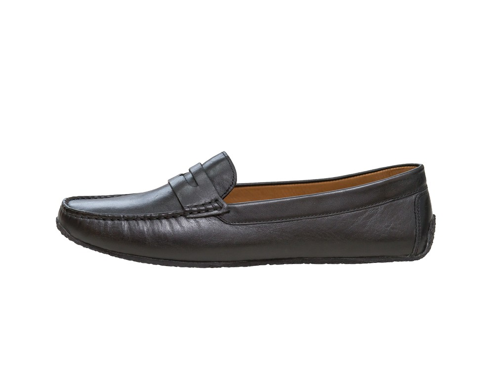 Aponi 2 black Plain Leather
