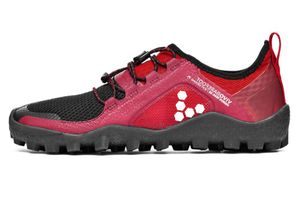 Vivobarefoot Primus Trail Soft Ground Men black/Red – Bild 1