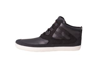 Naiad Black/White Plain Leather Unisexschuh – Bild $_i