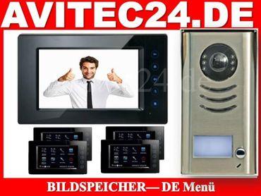 DT591 + DT6914 Videotürsprechanlage mit Bildspeicher