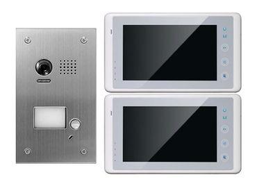 2x7-Zoll Video Türsprechanlage DT603fe Unterputz mit 170-Grad Weitwinkelkamera