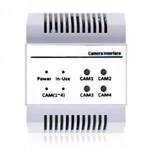 Kamera-Erweiterungsmodul für die DT-Videosprechanlage, Anschluss Zusatzkameras