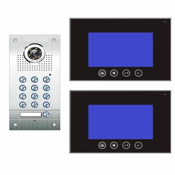Video Türsprechanlage 4-Draht mit Codeschlossfunktion