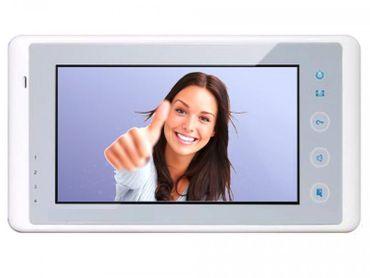 DT27SD-W Innenstation mit 7Zoll Monitor Bildspeicher