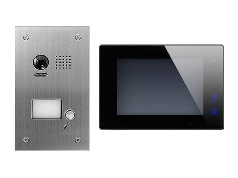dt603fe1 dt47m b videosprechanlage t ranlage video gegensprechanlage 2 draht. Black Bedroom Furniture Sets. Home Design Ideas