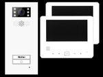 Türsprechanlage Einfamilienhaus Türstation XD1 + 2x Monitor XD7 001
