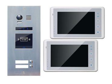 Türklingelanlage 2-Familienhaus ES2ID + 2xDT27W Touchscreen