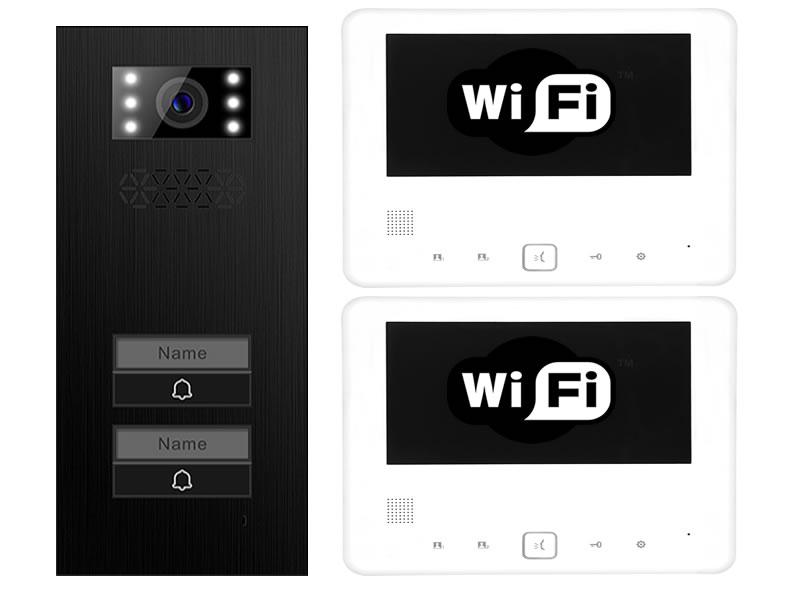 Relativ 2-Familienhaus WLAN & App gesteuerte Türsprechanlage Türstation XD NK02