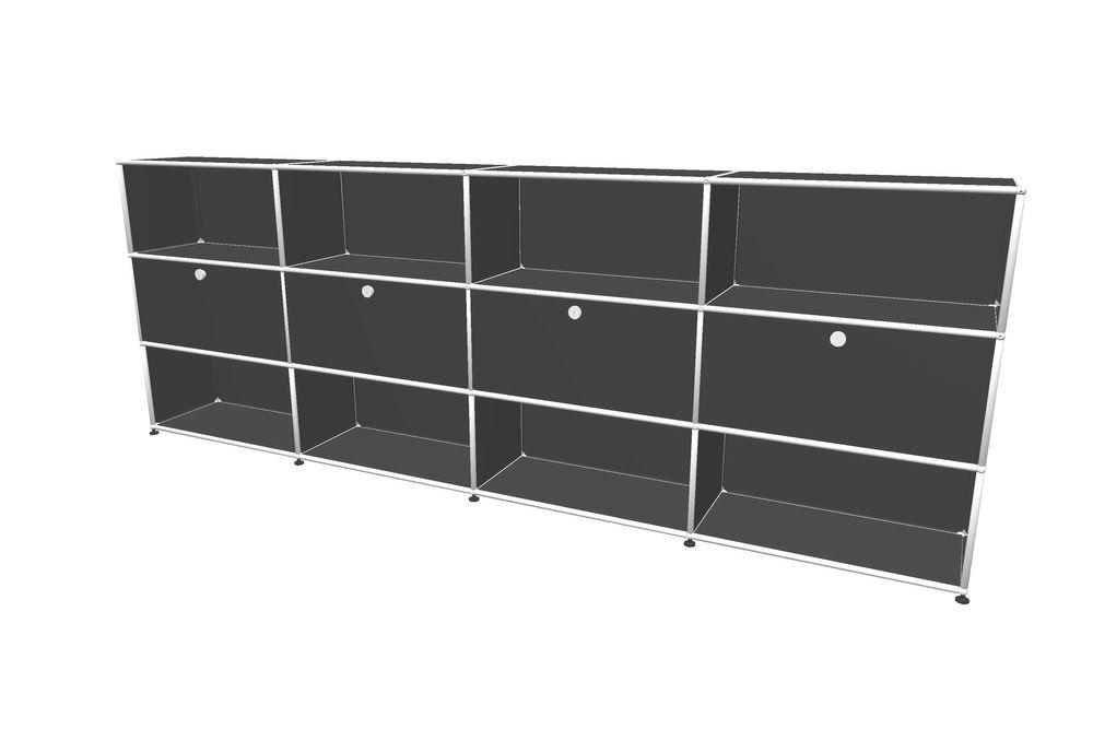 USM Haller Highboard 3000 mit 4 Klapptüren – Bild 2