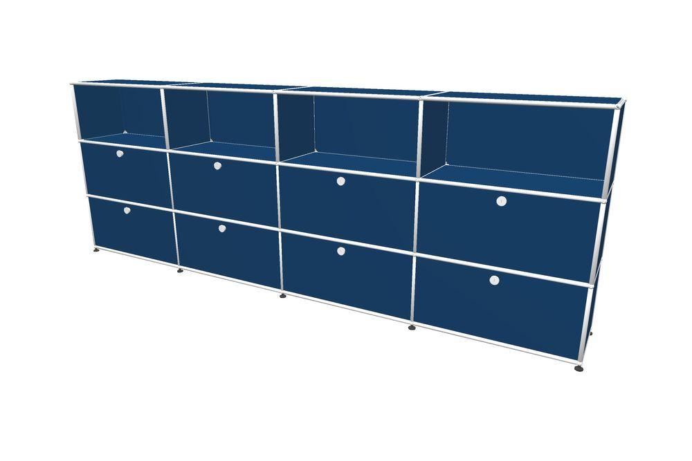 USM Haller Highboard 3000 mit 8 Klapptüren – Bild 5