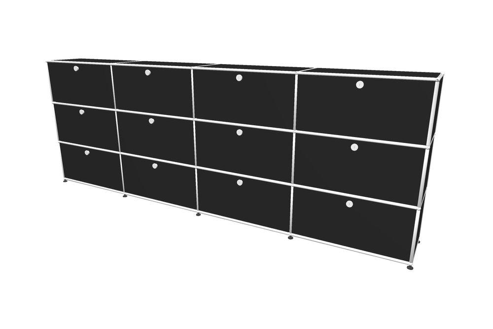 USM Haller Highboard 3000 mit 12 Klapptüren – Bild 6