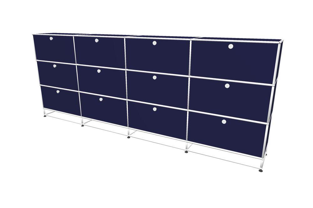USM Haller Highboard 3000 mit 12 Klapptüren und Sockel – Bild 14